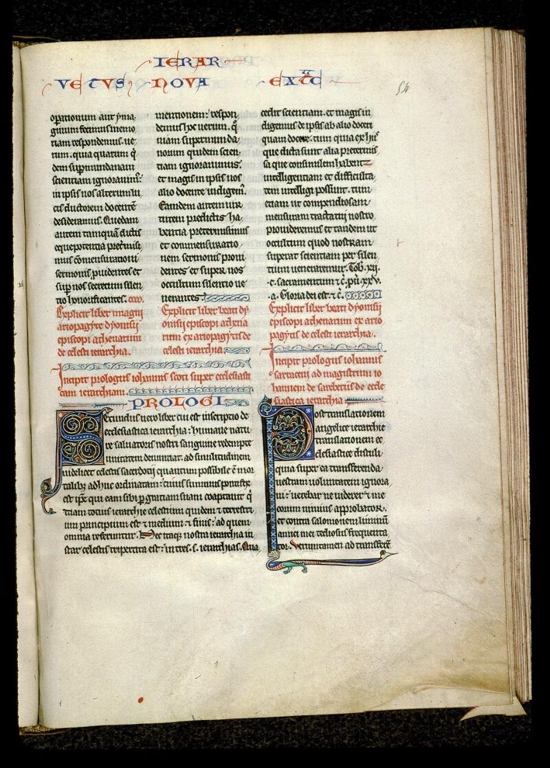 Angers, Bibl. mun., ms. 0142, f. 054 - vue 1