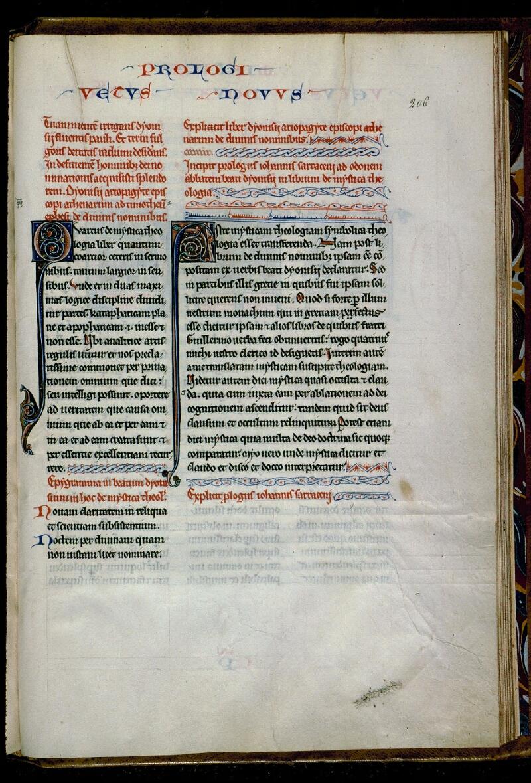 Angers, Bibl. mun., ms. 0142, f. 206 - vue 1