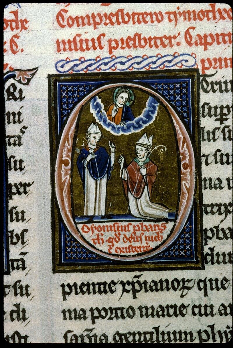 Angers, Bibl. mun., ms. 0142, f. 206v - vue 5