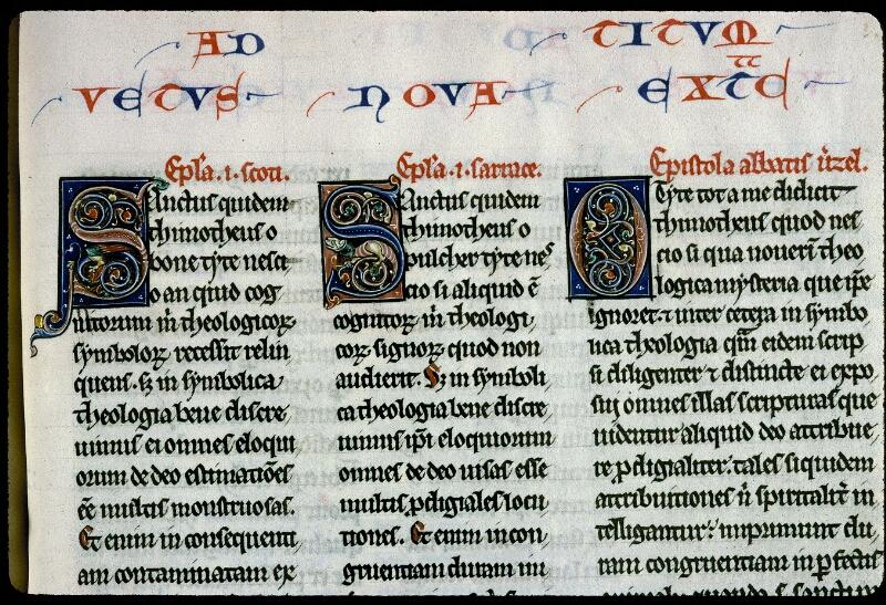 Angers, Bibl. mun., ms. 0142, f. 213 - vue 2