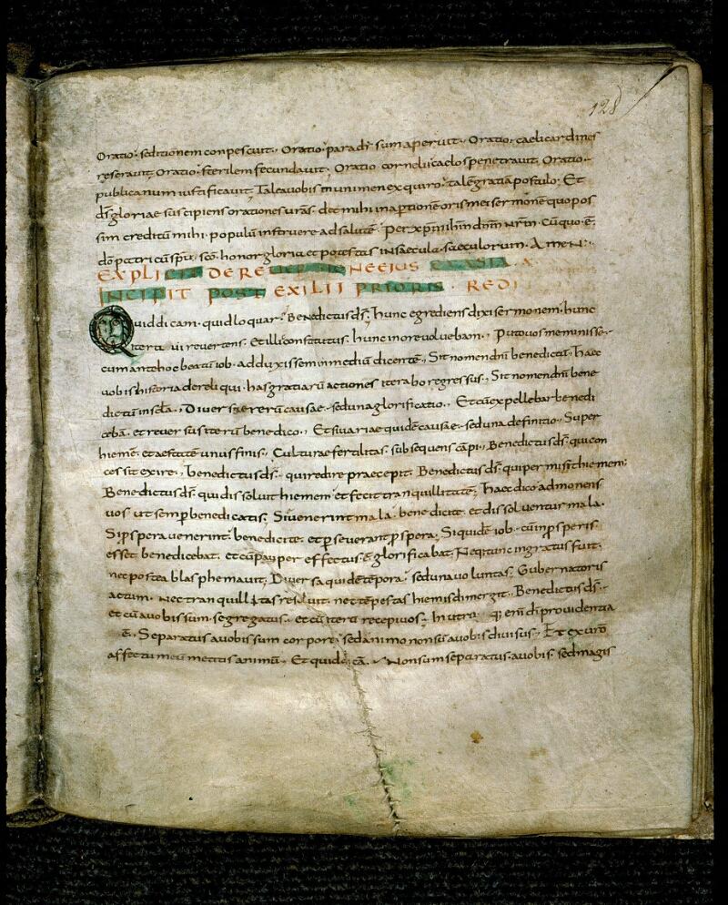 Angers, Bibl. mun., ms. 0147, f. 128 - vue 1