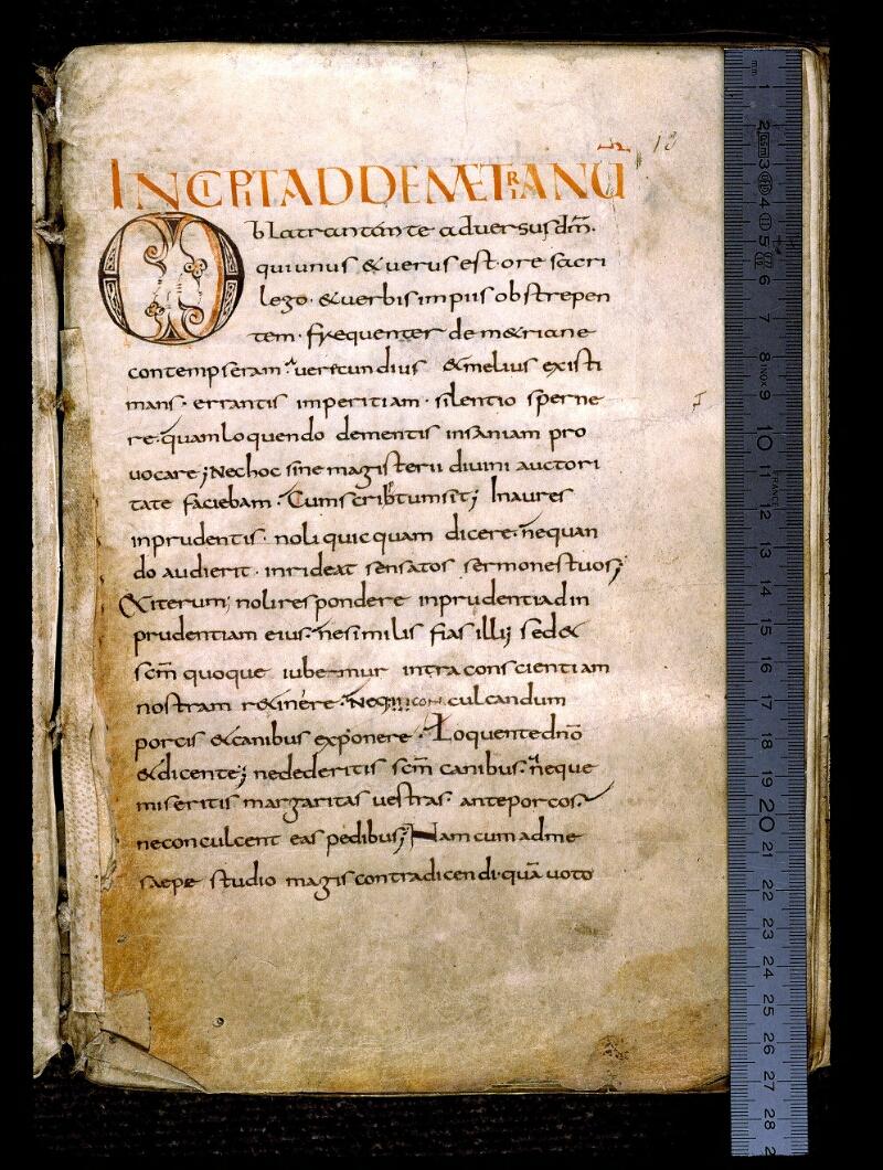 Angers, Bibl. mun., ms. 0148, f. 013 - vue 1