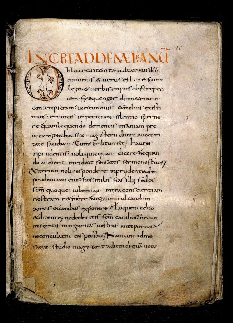 Angers, Bibl. mun., ms. 0148, f. 013 - vue 2