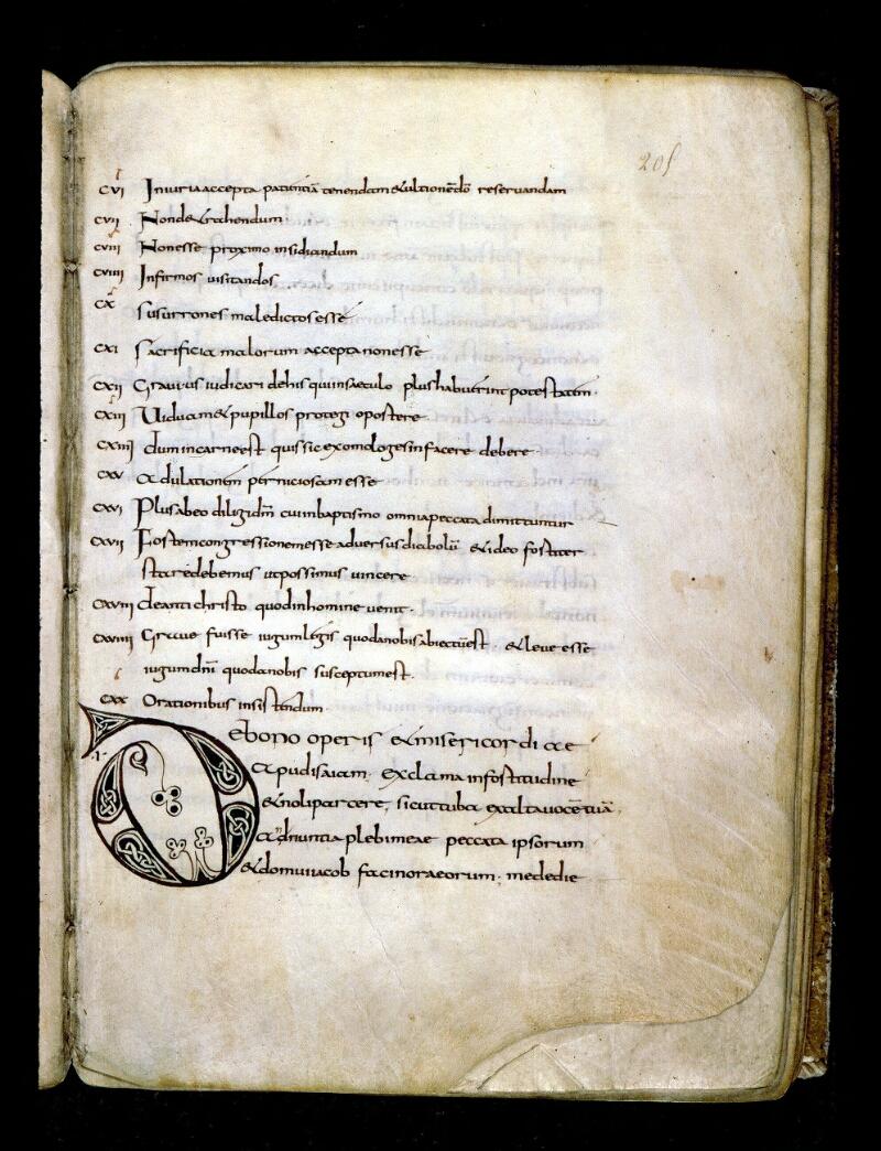 Angers, Bibl. mun., ms. 0148, f. 205