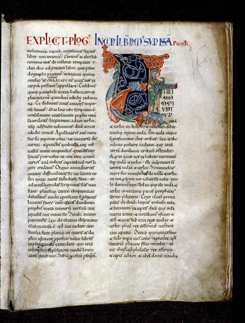 Angers, Bibl. mun., ms. 0150, f. 002 - vue 1