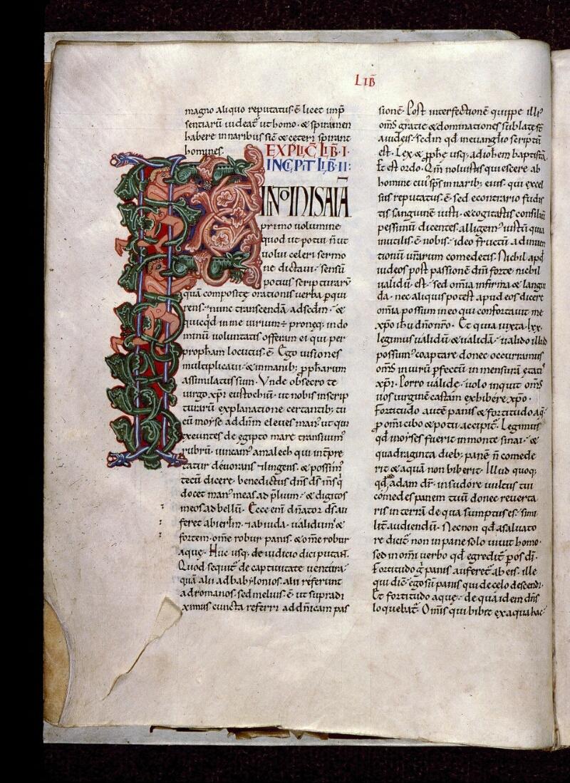 Angers, Bibl. mun., ms. 0150, f. 015v - vue 1