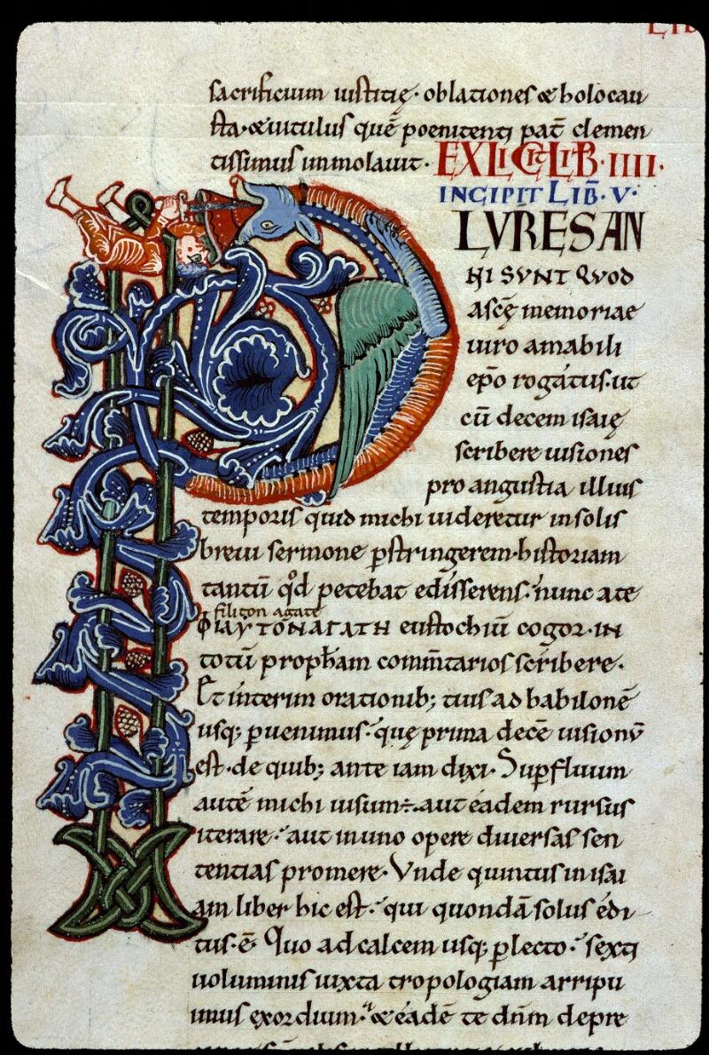 Angers, Bibl. mun., ms. 0150, f. 056v - vue 2