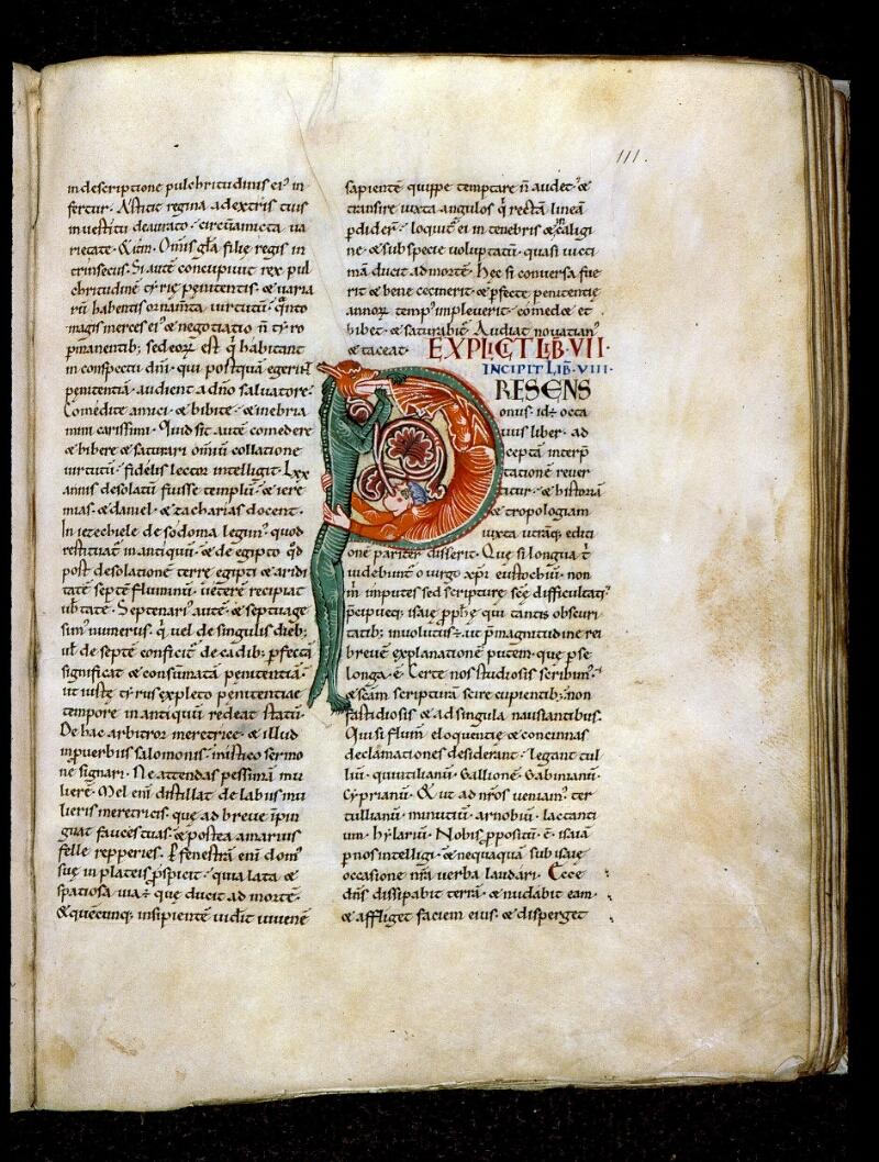 Angers, Bibl. mun., ms. 0150, f. 111 - vue 1
