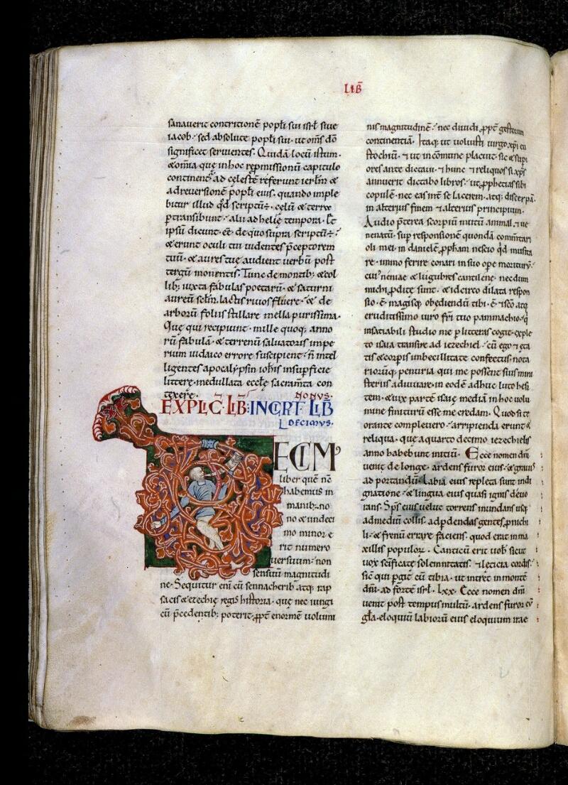 Angers, Bibl. mun., ms. 0150, f. 138v - vue 1