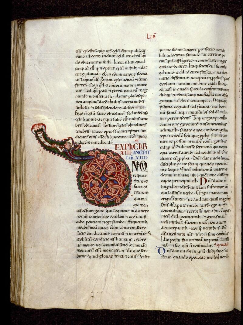 Angers, Bibl. mun., ms. 0150, f. 189v - vue 1
