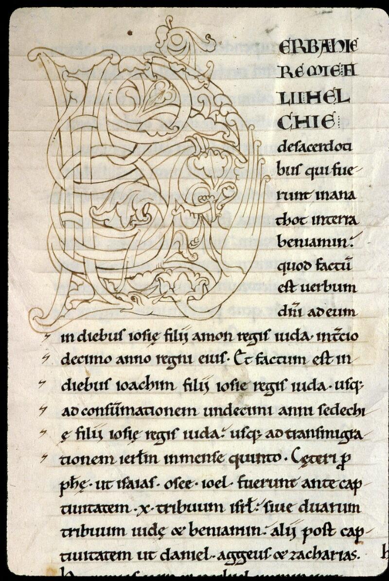 Angers, Bibl. mun., ms. 0151, f. 001v - vue 2