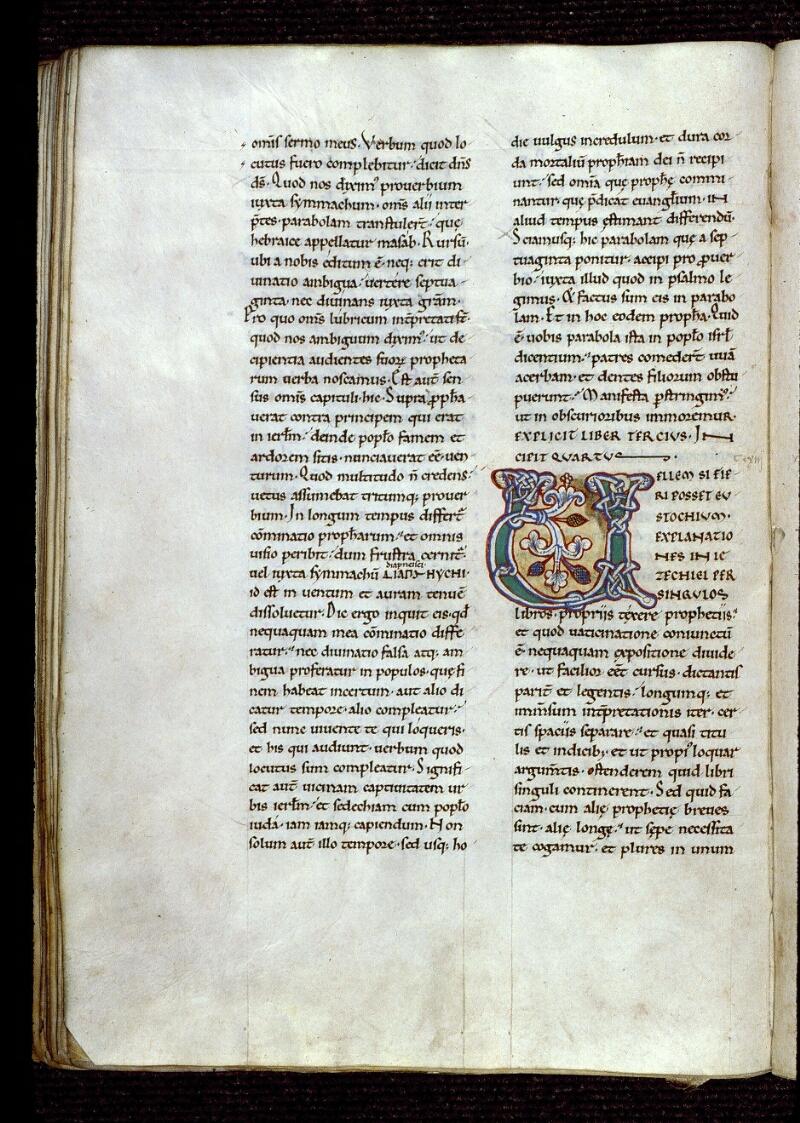 Angers, Bibl. mun., ms. 0152, f. 043v - vue 1