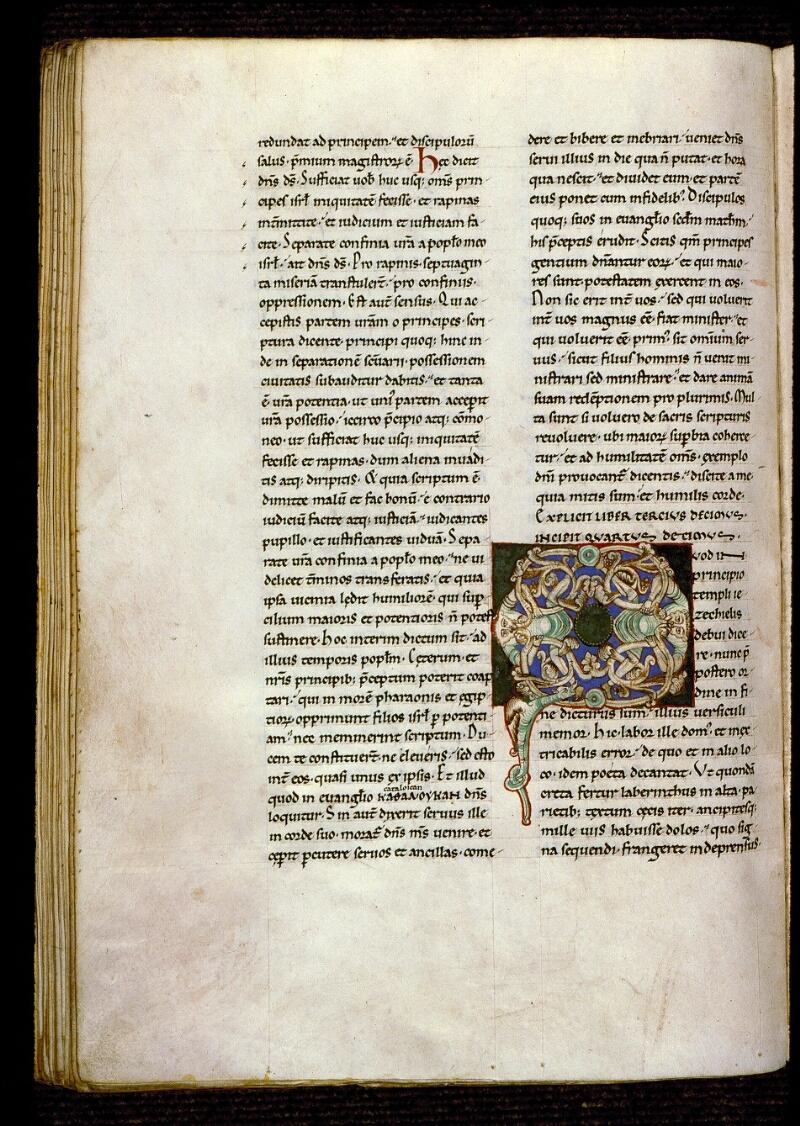 Angers, Bibl. mun., ms. 0152, f. 208v - vue 1