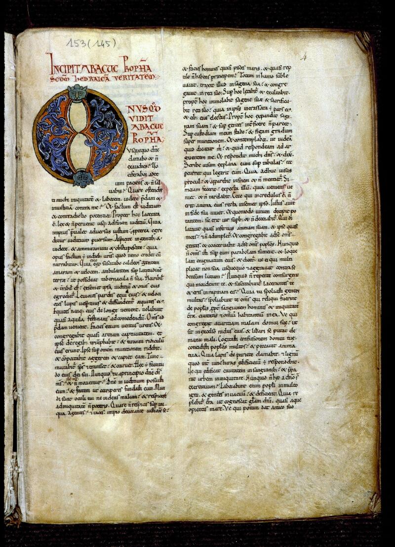 Angers, Bibl. mun., ms. 0153, f. 004 - vue 2