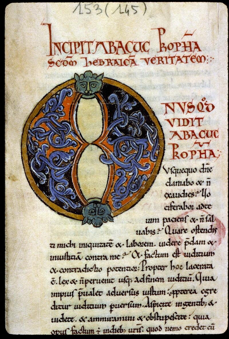 Angers, Bibl. mun., ms. 0153, f. 004 - vue 3