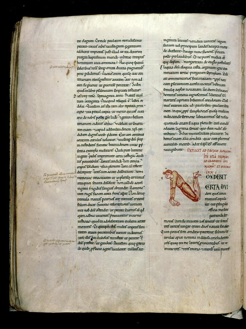 Angers, Bibl. mun., ms. 0154, f. 137v - vue 1