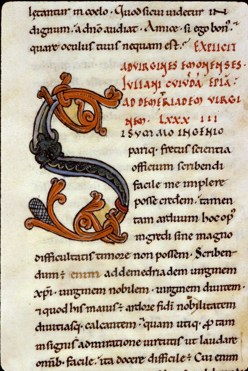 Angers, Bibl. mun., ms. 0154, f. 165 - vue 3