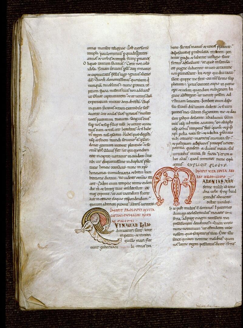 Angers, Bibl. mun., ms. 0154, f. 273v - vue 1