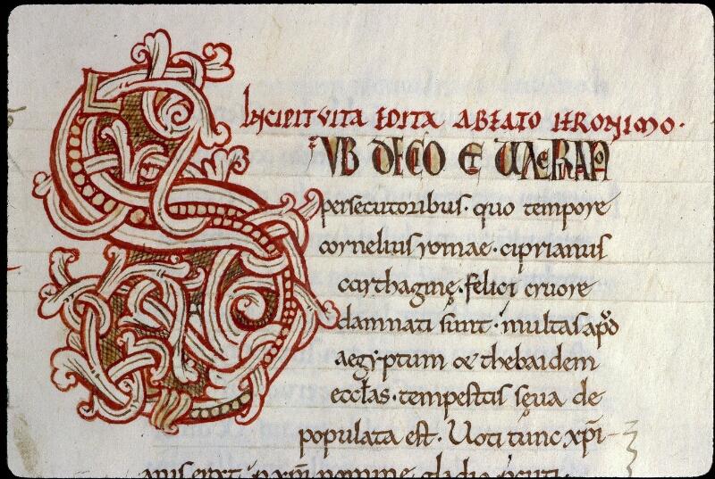 Angers, Bibl. mun., ms. 0154, f. 276 - vue 2