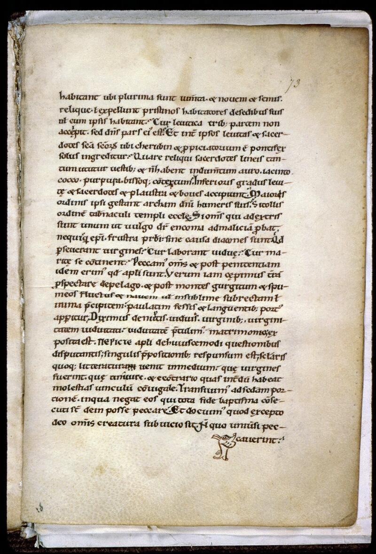 Angers, Bibl. mun., ms. 0155, f. 073 - vue 2
