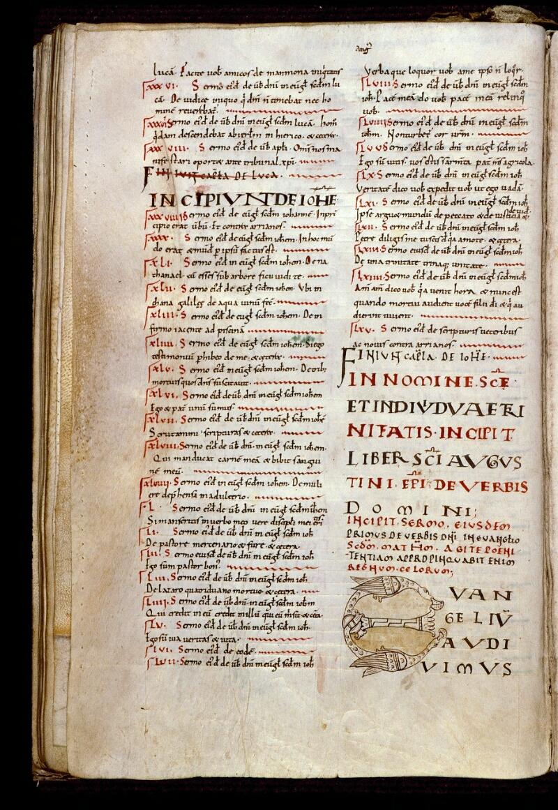 Angers, Bibl. mun., ms. 0156, f. 043v - vue 1