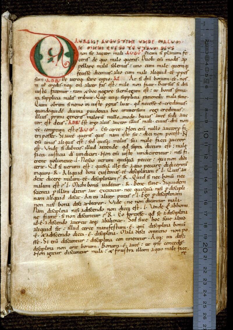 Angers, Bibl. mun., ms. 0159, f. 004 - vue 1