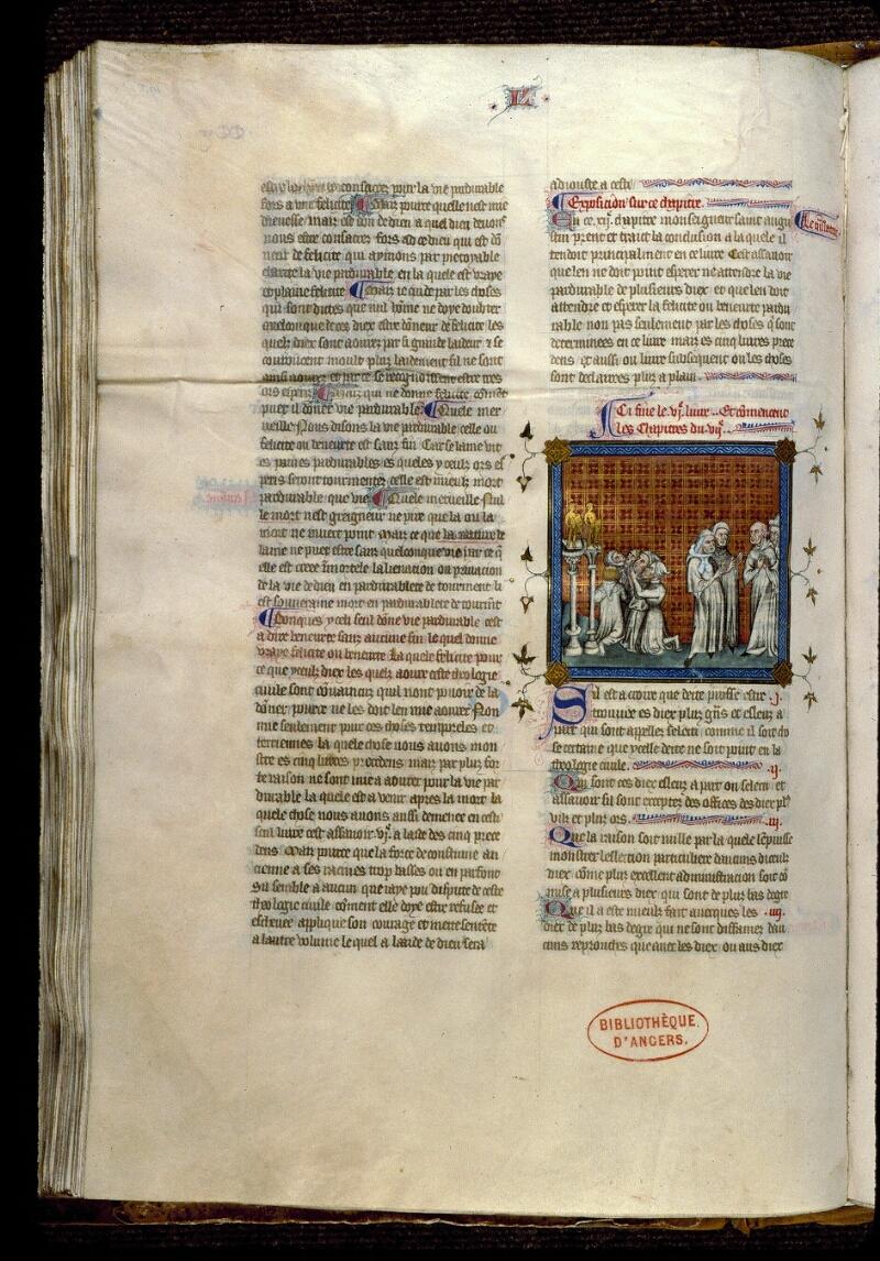 Angers, Bibl. mun., ms. 0162, f. 193v - vue 1
