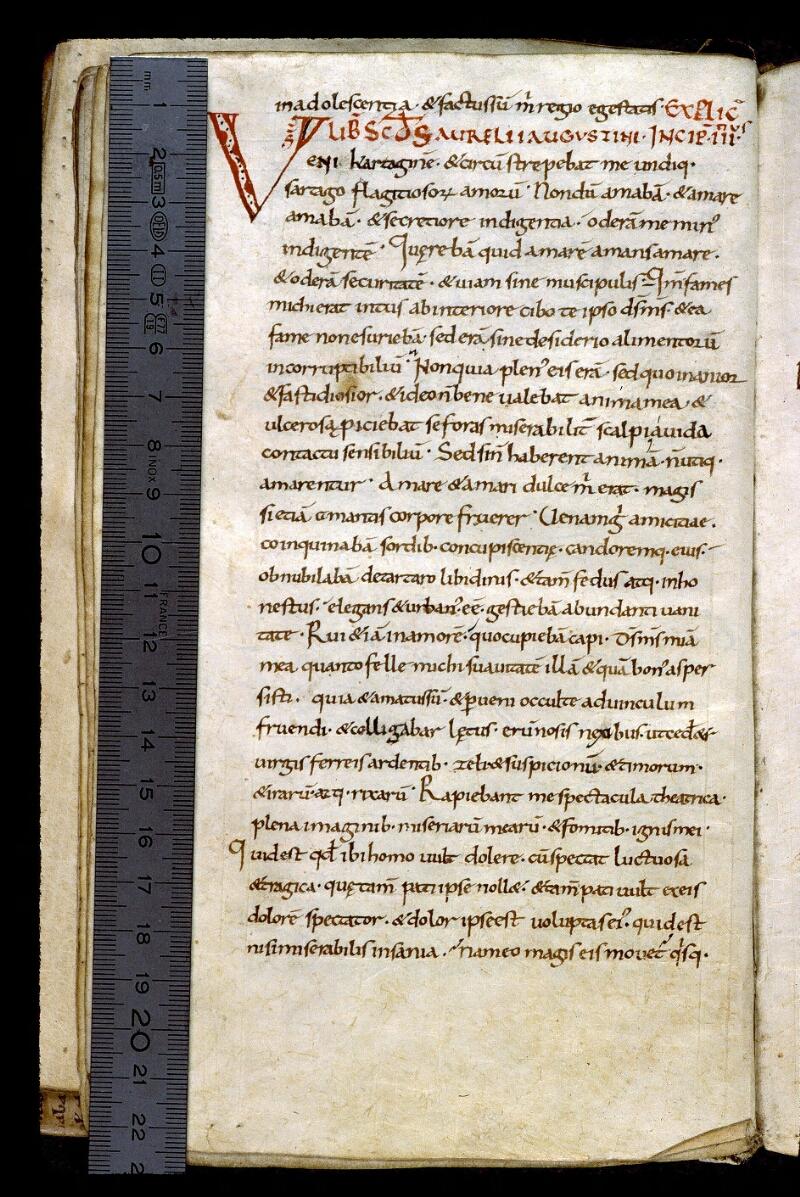 Angers, Bibl. mun., ms. 0163, f. 017v - vue 1