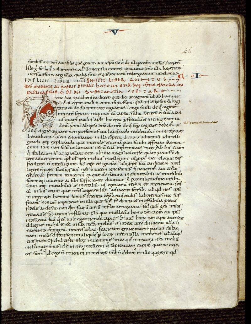 Angers, Bibl. mun., ms. 0164, f. 046 - vue 1
