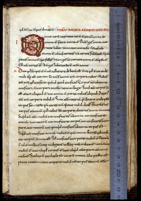 Angers, Bibl. mun., ms. 0165, f. 003 - vue 1