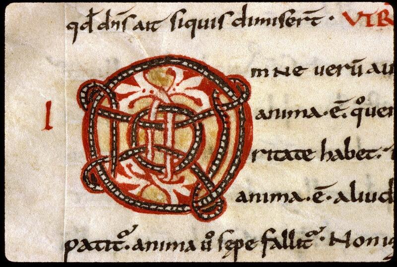 Angers, Bibl. mun., ms. 0165, f. 003 - vue 3
