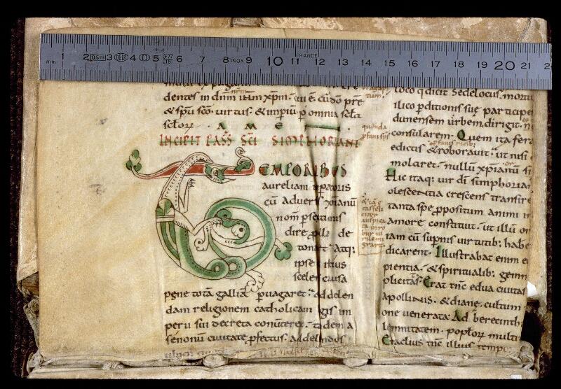Angers, Bibl. mun., ms. 0166, f. 000Bv - vue 1