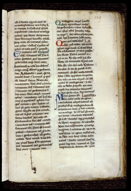 Angers, Bibl. mun., ms. 0167, f. 129