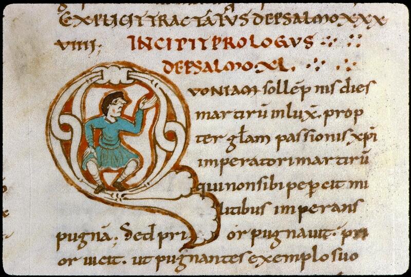 Angers, Bibl. mun., ms. 0169, f. 160v - vue 2