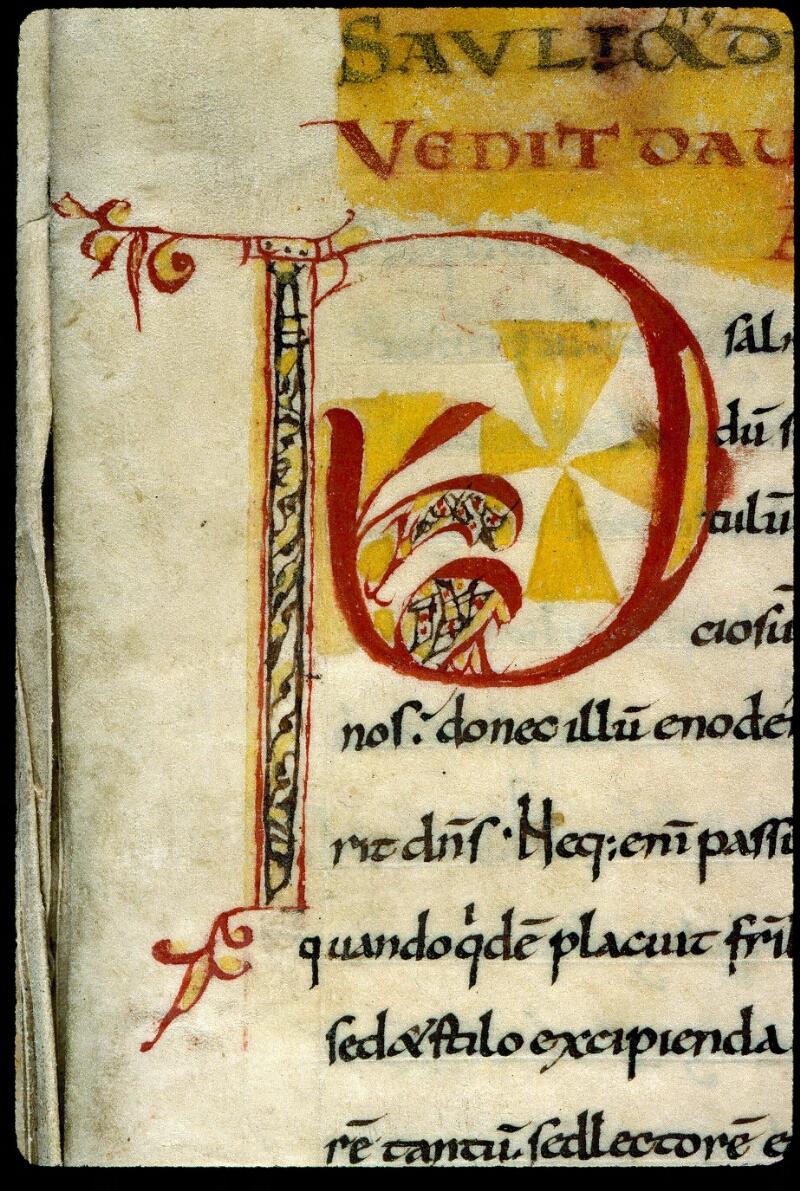 Angers, Bibl. mun., ms. 0170, f. 001 - vue 3