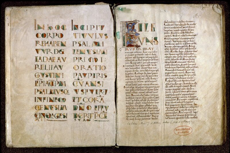 Angers, Bibl. mun., ms. 0171, f. 000Bv-001