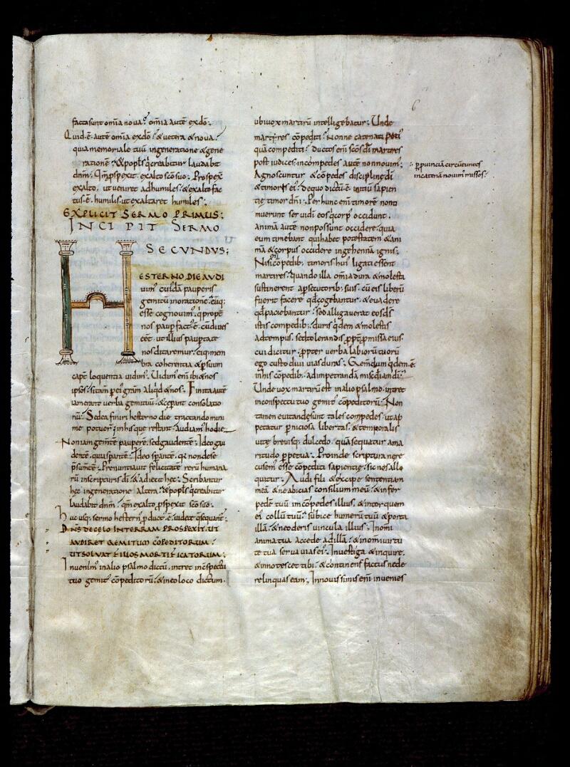 Angers, Bibl. mun., ms. 0171, f. 006 - vue 1