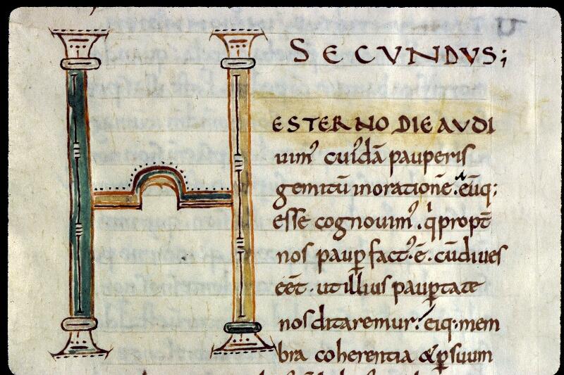 Angers, Bibl. mun., ms. 0171, f. 006 - vue 2