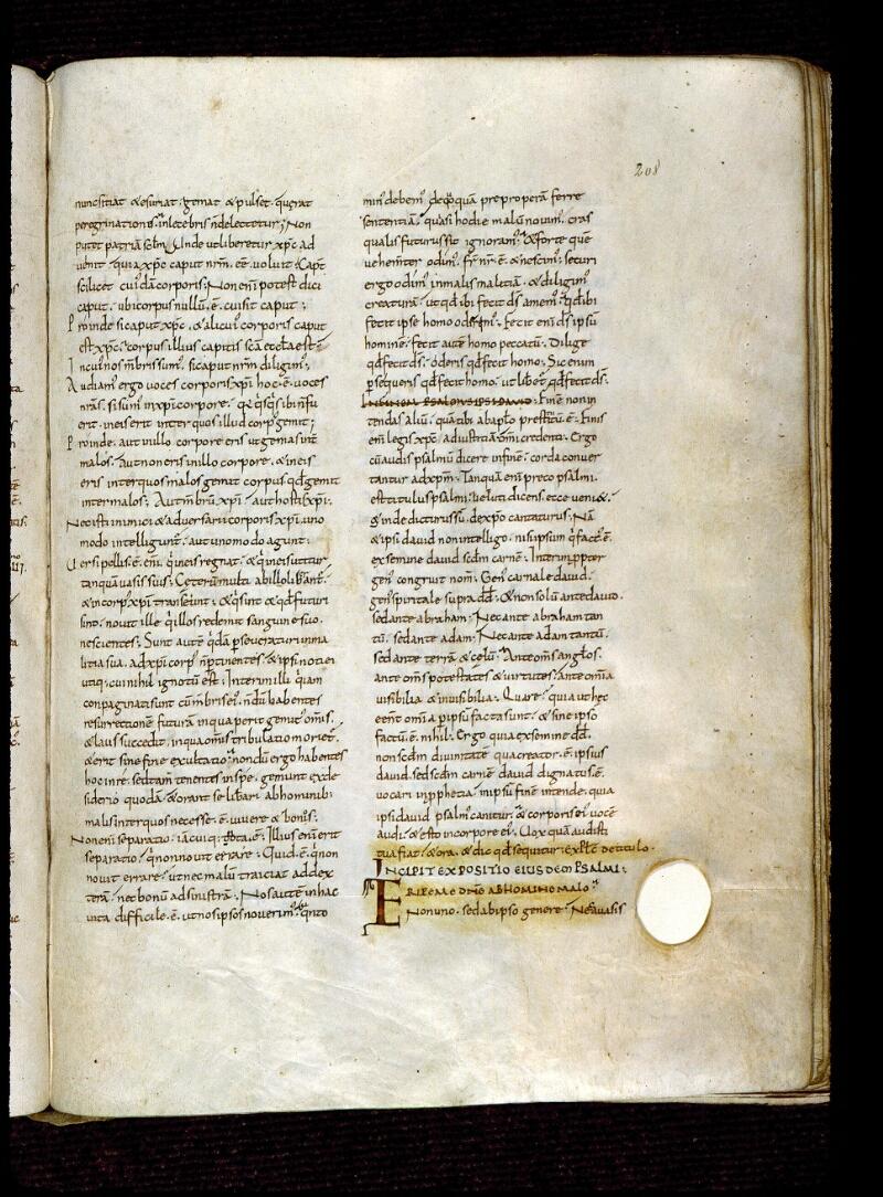 Angers, Bibl. mun., ms. 0171, f. 208