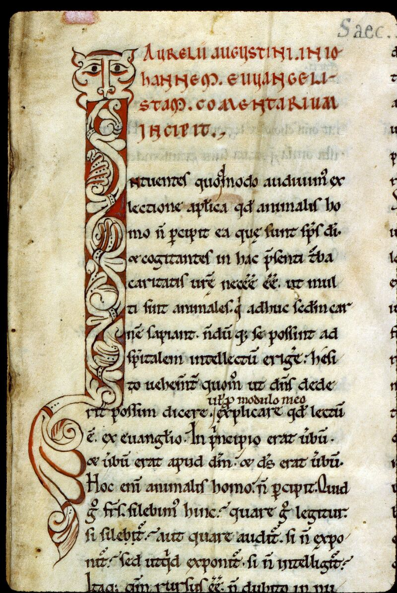 Angers, Bibl. mun., ms. 0177, f. 001 - vue 3