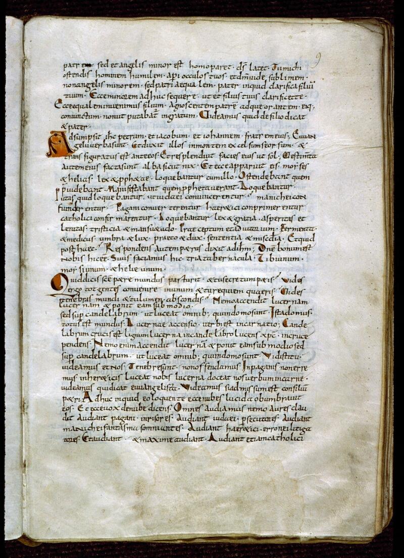 Angers, Bibl. mun., ms. 0179, f. 009 - vue 2