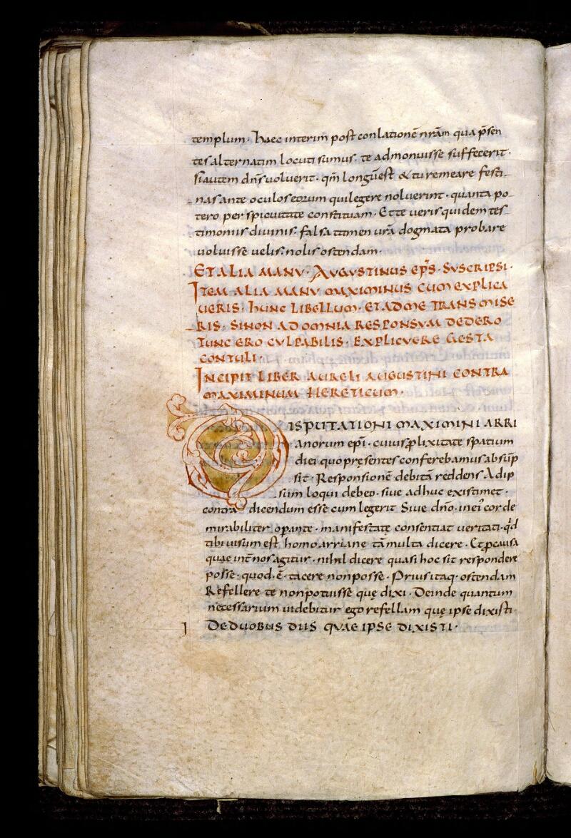 Angers, Bibl. mun., ms. 0180, f. 095v - vue 1
