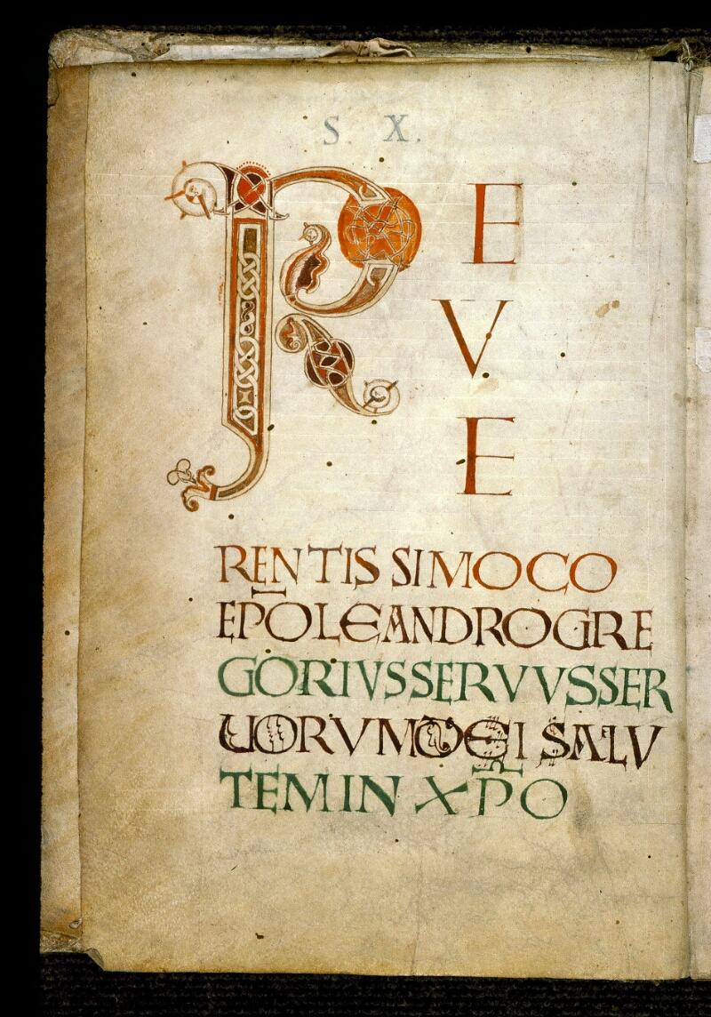 Angers, Bibl. mun., ms. 0183, f. 001v - vue 2