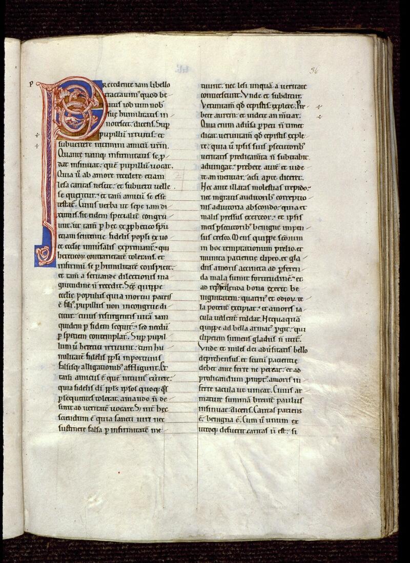 Angers, Bibl. mun., ms. 0184, f. 036 - vue 1