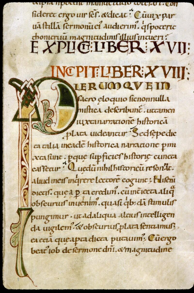 Angers, Bibl. mun., ms. 0186, f. 012 - vue 2