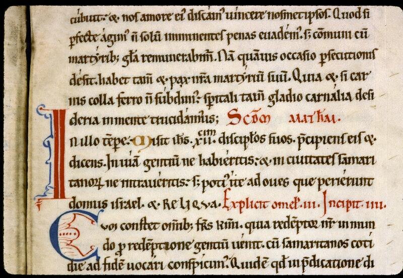 Angers, Bibl. mun., ms. 0190, f. 009