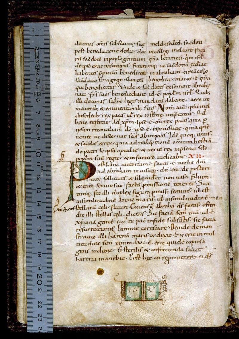 Angers, Bibl. mun., ms. 0195, f. 016v - vue 1