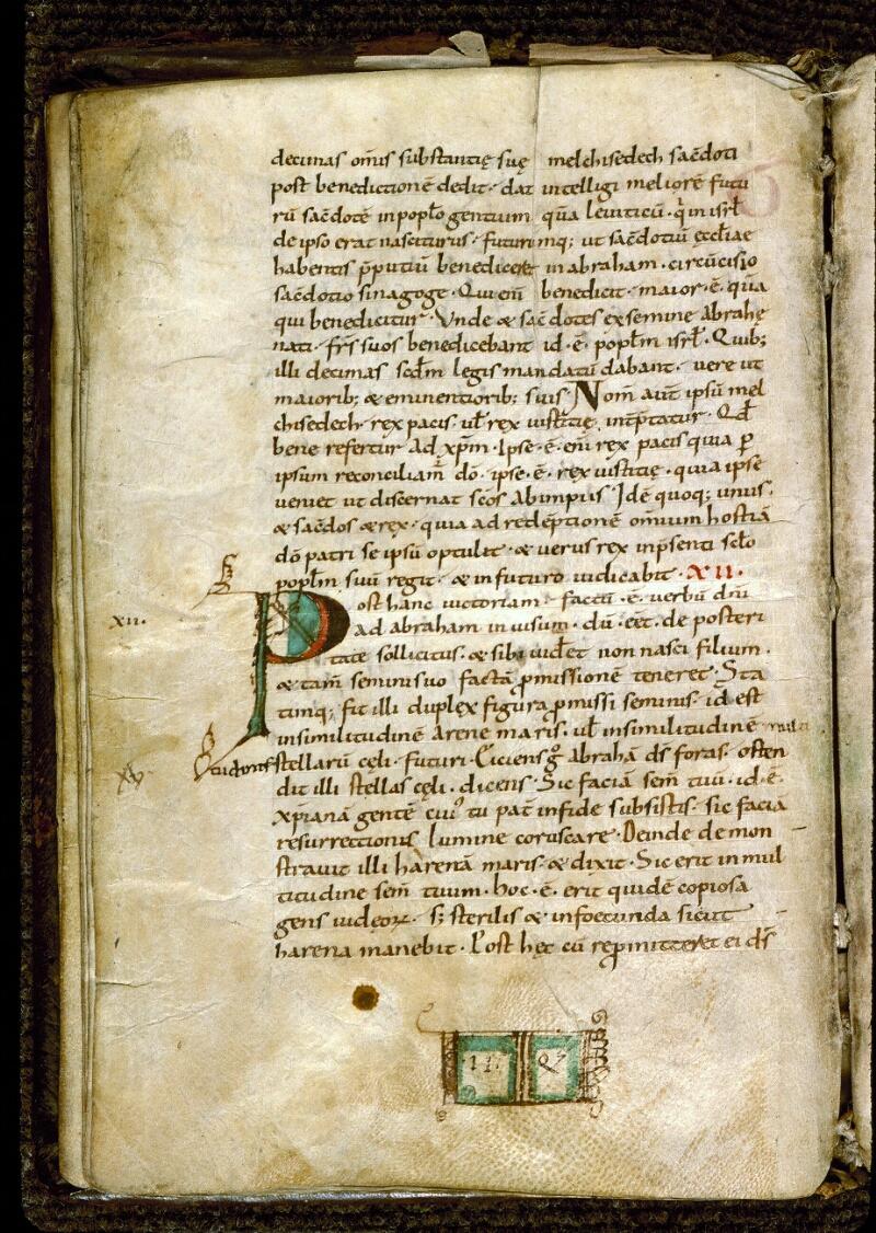 Angers, Bibl. mun., ms. 0195, f. 016v - vue 2