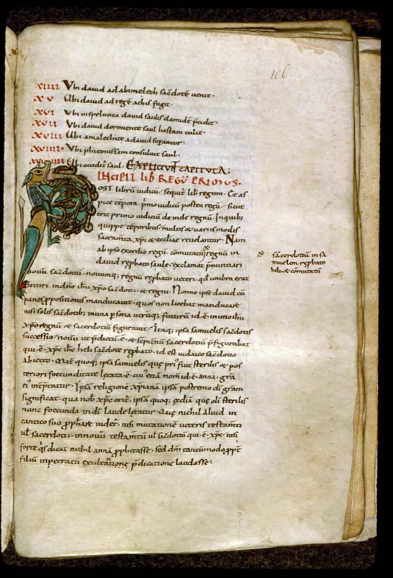 Angers, Bibl. mun., ms. 0195, f. 106 - vue 1