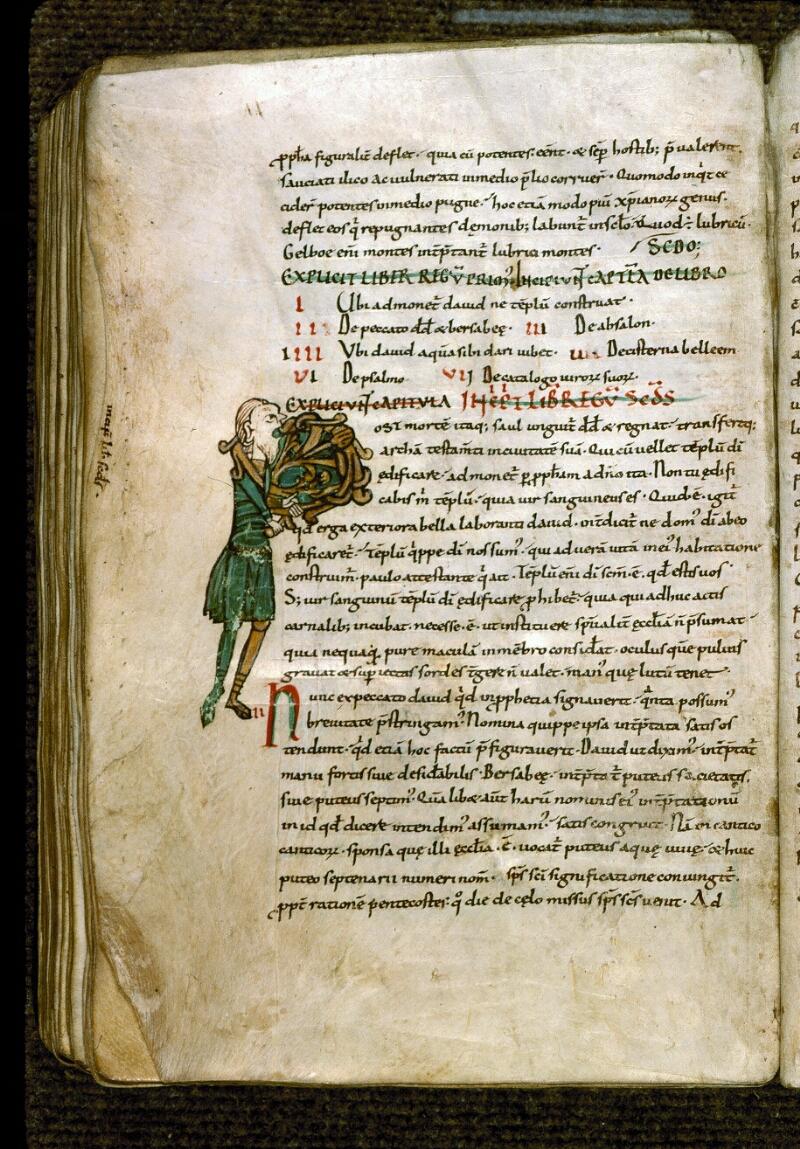 Angers, Bibl. mun., ms. 0195, f. 115v - vue 1